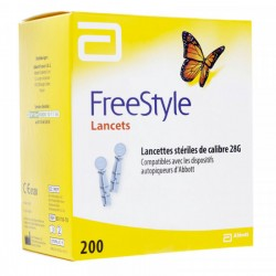 Freestyle 200 lancettes