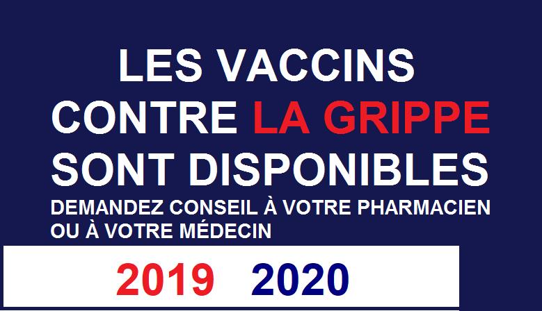 Vaccin contre la grippe 2018 2019